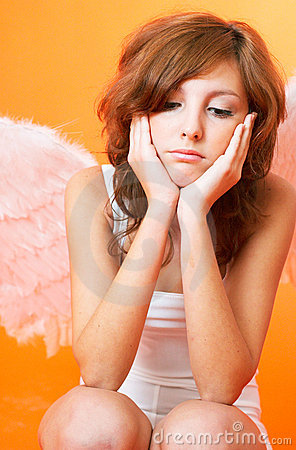 Disappointed Angel