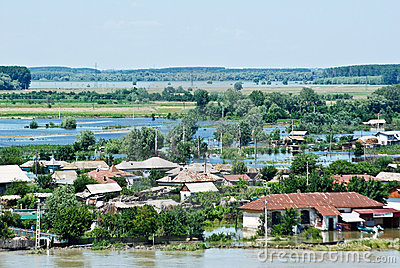 Disastrous Floods Hit Romania - July 5 Editorial Photo
