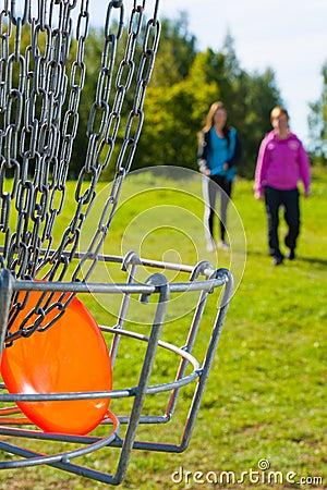 Disc in basket