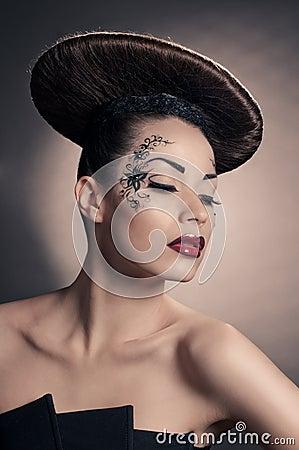 Disc coiffure