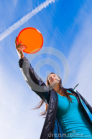 Disc and open sky