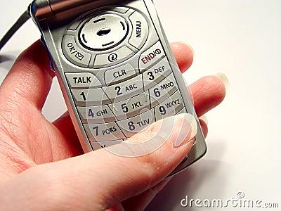 Discando um telefone