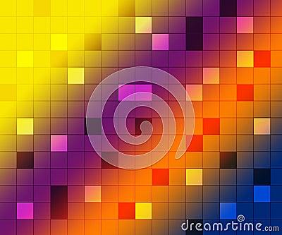Disco background, shine