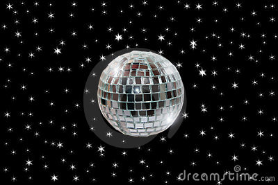 Disco ball 2 with path