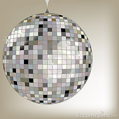 Disco ball black