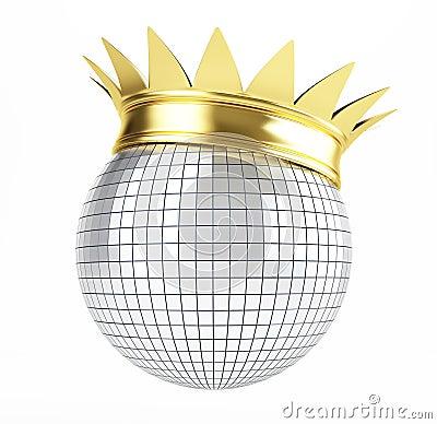 Disco ball crown