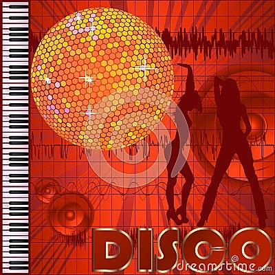 Disco club background