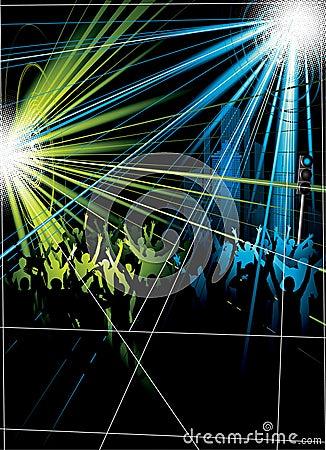 Disco Crowds