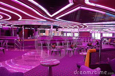 Disco on a cruise