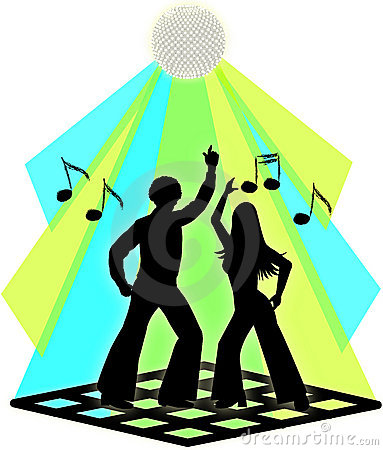 Free Disco Dance Couple Royalty Free Stock Images - 1302819