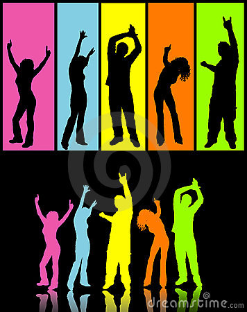 Free Disco Dancers Stock Photos - 749983