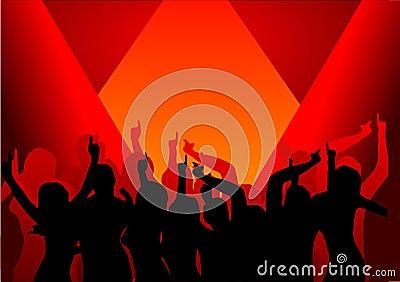 Disco Dancers in the Spotlight