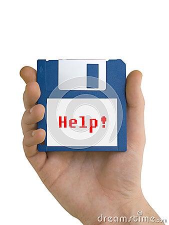 Disco di aiuto disponibile
