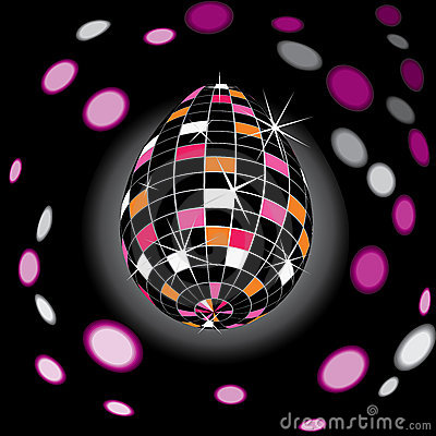 Disco Easter Royalty Free Stock Images - Image: 13283899
