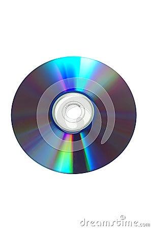 Disco em branco (com trajeto de grampeamento)
