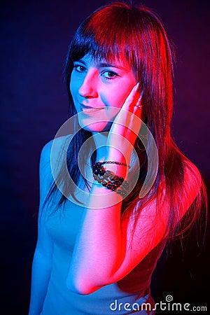 Disco girl.