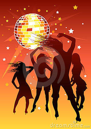 Free Disco Girls Royalty Free Stock Images - 1789239