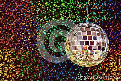 Disco Glitter Ball Stock Images Image 22352594