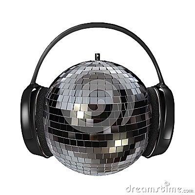 Free Disco Headphones Stock Photo - 1481850