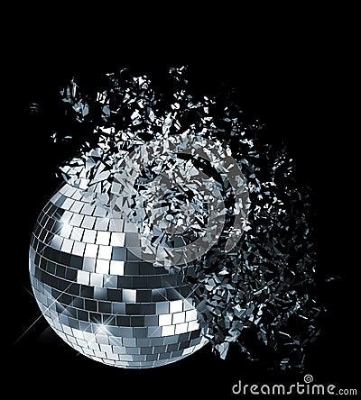 Disco kugel stockfotos bild 15459303 - Bola de discoteca de colores ...