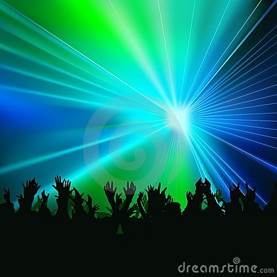 Free Disco Lights Royalty Free Stock Photography - 9558327