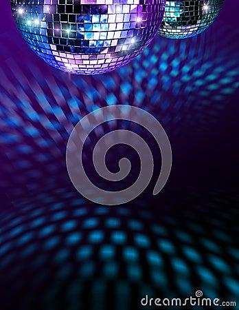 Free Disco Mirro Balls Stock Photography - 14186862