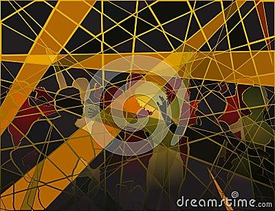 Disco mosaic