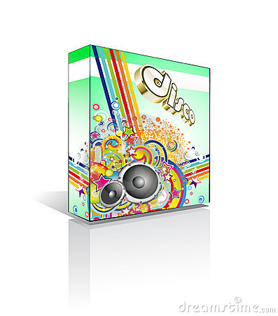Free Disco Muisic Box Or Package Royalty Free Stock Photography - 13092437