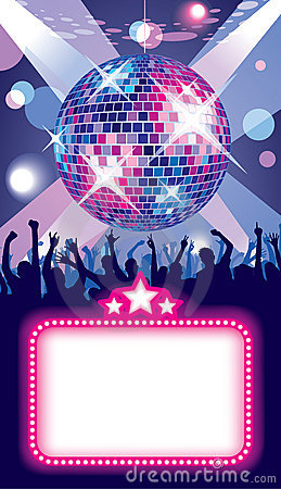 Free Disco Party Stock Image - 10356261