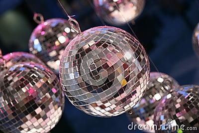 Disco party balls