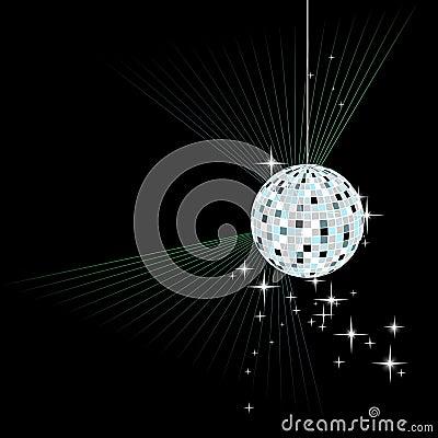 Free Disco Sphere - Vector Royalty Free Stock Photo - 11953975