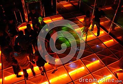 Disco Style Dance Hall