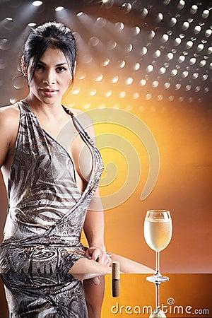 Free Disco Wine Stock Image - 10393871