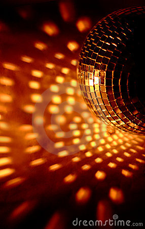 Free Discoball Lights Club Royalty Free Stock Photography - 18508717
