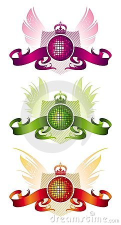 Free Discoheraldry Royalty Free Stock Photography - 4830617