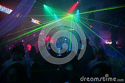 Discoteca del laser