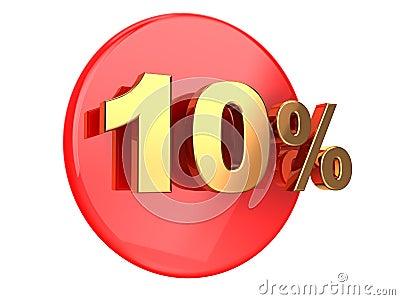 Discount 10 percent