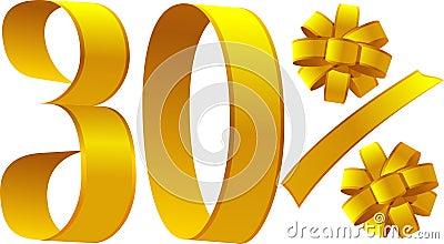 Discount - 30 percent