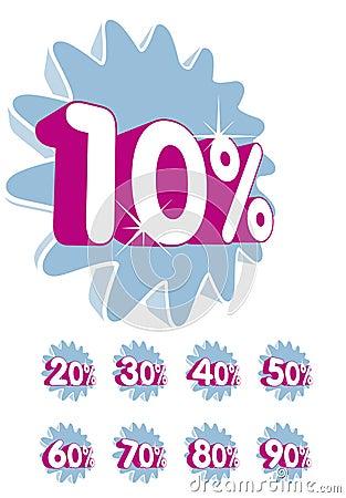 Free Discount - Percentage Stock Image - 6282461