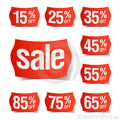 Free Discount Price Tags Stock Photo - 19452150