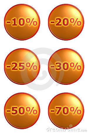 Discount tags labels