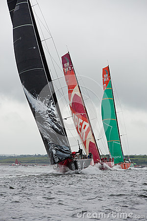 Discover Ireland In-Port Race Editorial Photo