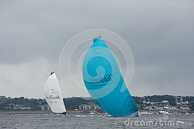 Discover Ireland In-Port Race Editorial Stock Image