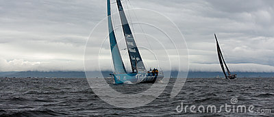 Discover Ireland In-Port Race Editorial Photography