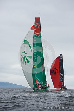 Discover Ireland In-Port Race Editorial Image