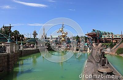 Discoveryland in Disneyland Paris Editorial Image