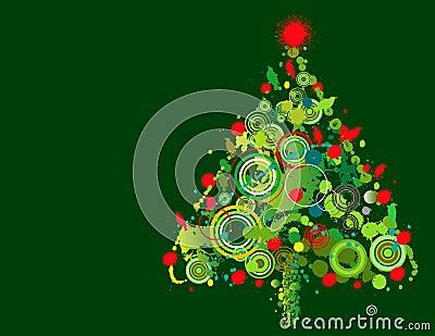 Dise o colorido del rbol de navidad foto de archivo - Arbol de navidad diseno ...