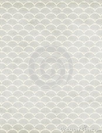 Diseño del papel del libro de recuerdos del ventilador del art déco
