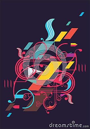 Più immagini stock simili di ` disegno astratto moderno `