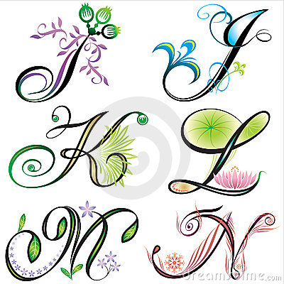 Disegno degli elementi di alfabeti - s